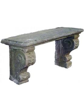Sand stone benche