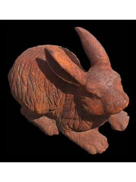 Cast-iron rabbit