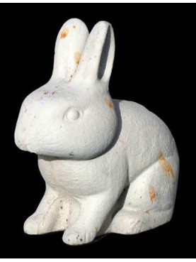 Cast-iron little rabbit