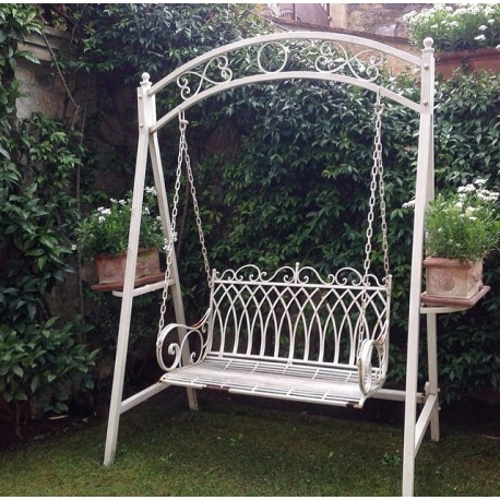 Swing Bench with 2 seats in iron