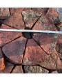 Mattoni per colonna a spicchi, 7 mattoni per ogni piano