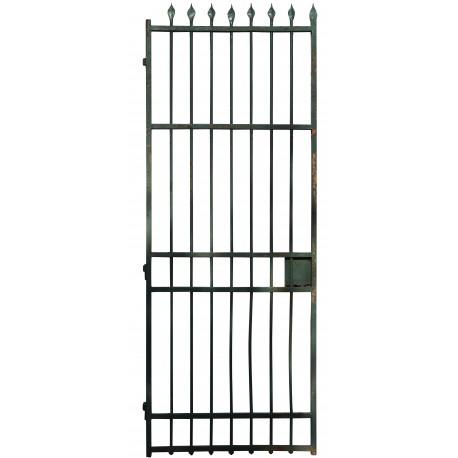 cancello in ferro battuto proveniente dalla demolizione di un carcere (3)