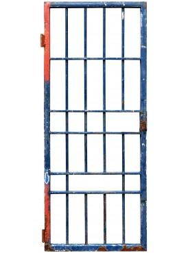 cancello in ferro battuto proveniente dalla demolizione di un carcere (5)