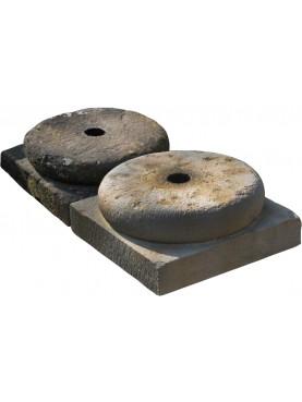 Rifacimento di un capitello in pietra arenaria 50x50 cm