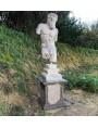 Minotauro in pietra calcarea bianca