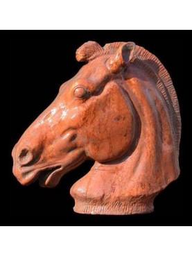 Testa di cavallo del carro di Selene