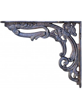 Pair of cast iron brackets
