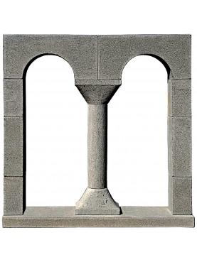 Bifora lucchese pietra serena nostra produzione