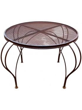 Round forged-iron Ø90cms table Piero Portaluppi