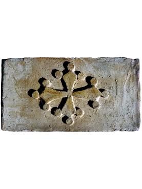 Mattoni Pisani per fienile con croce pisana pomata