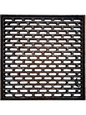 30x30cms Cast iron grate, air intakes and drains