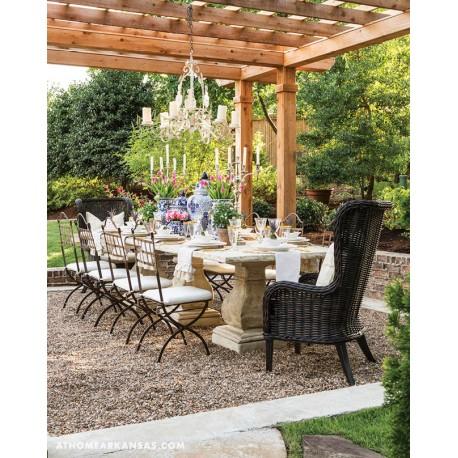 Tavolo in pietra di 280 cm x 90 cm