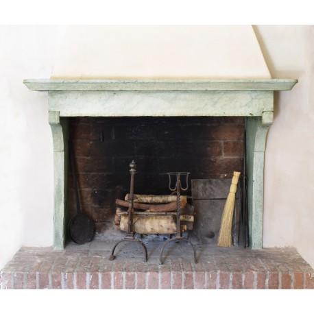 Versilia fireplace - marble/stone - fireplace