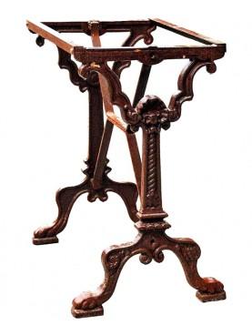 Piccola Gueridon francese da Bistrot ottocentesca