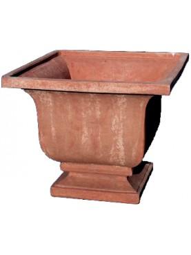 Cachepot in terracotta