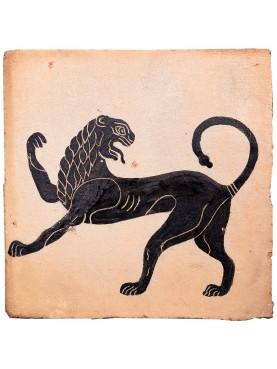 La chimera etrusca (Mostro della mitologia greca)