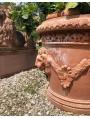 The Vase of the four lions - large citrus vase