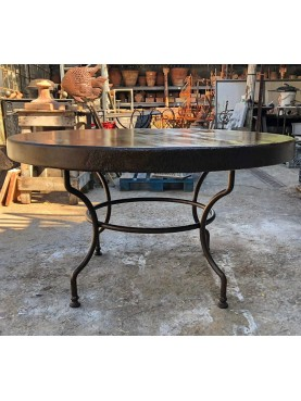 forged iron Round table Ø 130 cm