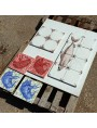 Majolica tile - our production 15 x 15 cm
