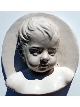 """""""Robbiano"""" child of the SS Annunziata SX - majolica"""