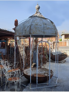 Little forged iron Gazebo bersò