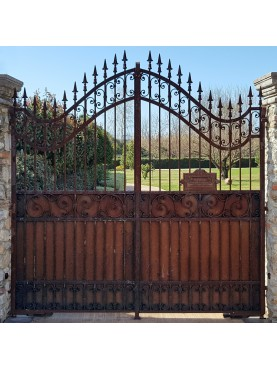 Cancello in ferro battuto 2,50 m.