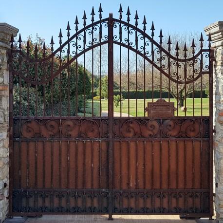Popolare Cancello in ferro battuto 2,50 m. - Recuperando DG19