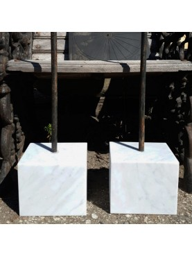Rectangular Marble stand for terracotta sculpture