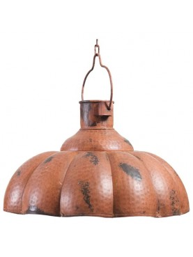 Plafoniere in ferro Ø46cm smaltato lampadario in sospensione industriale ferro