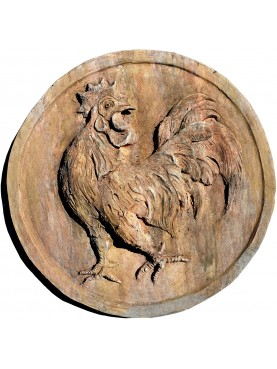 FARMHOUSE terracotta round COCK