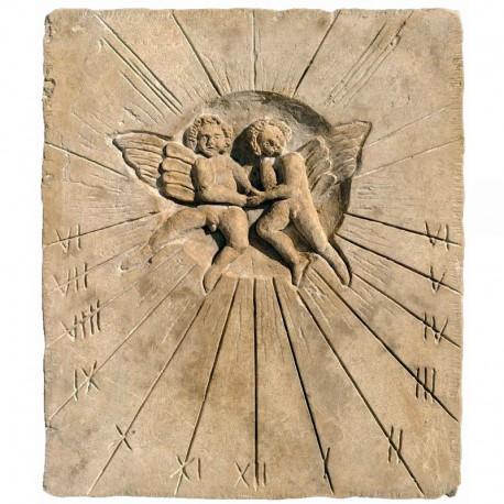 Copia di una meridiana ottocentesca in pietra