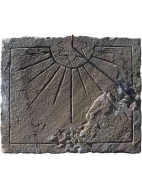 Ancient design - Stone sundial - sandstone