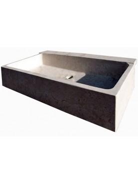 French Limestone sink