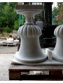 Medici's White Carrara marble Vase our production