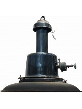 Large antique lampara in iron Ø 45 cm