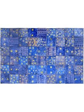 Piastrelle Marocchine Berbere - cielo notturno