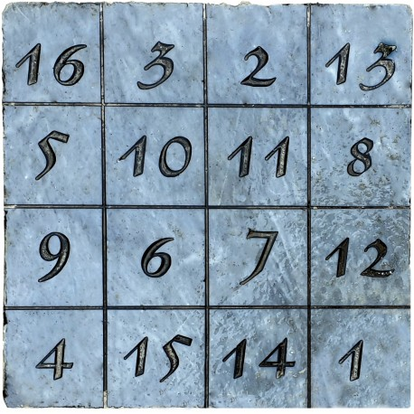 The Magic Square - The Durer's table - marble