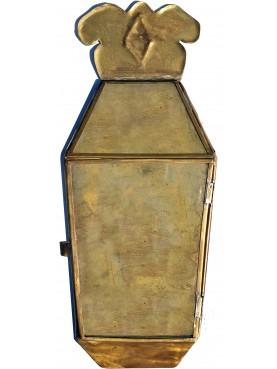 La lanterna di Villa Buonvisi in ottone saldata a mano