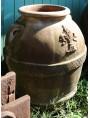Orci Toscani da olio H.90cm in terracotta
