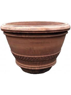 Terracotta Citrus vase Ø88cms