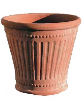 Slotted vase Ø71cms