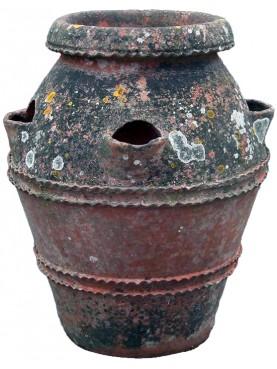 Piccolo Orcio H.65cm Toscano da fragole antico originale