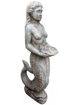 Cement statue - the Siren
