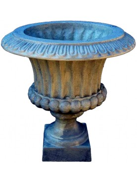 Piccolo vaso in ghisa