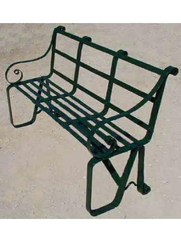 Ferragamo's Bench in iron