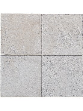 Rough white limestone our production 30x30 cm square formats