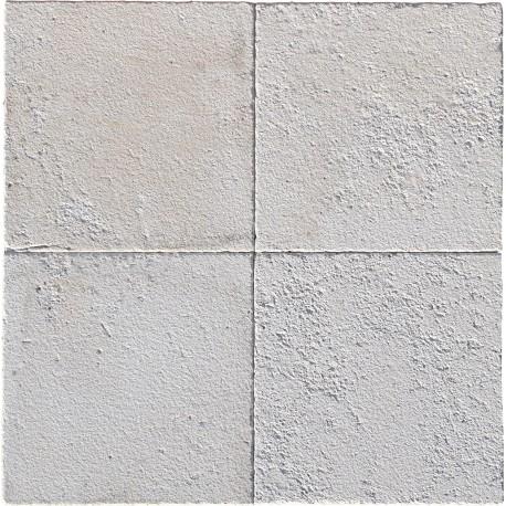 Rough white limestone our production 30x30 cm square formats