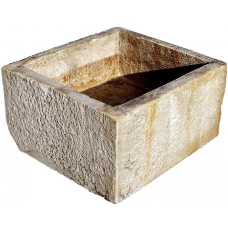 Colonnata marble basin for the lard