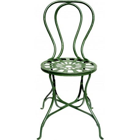sedia in ferro battuto ROBUSTA INGLESE - Recuperando