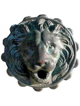 Mascherone per fontana in Bronzo - modello di Capua e di Eboli